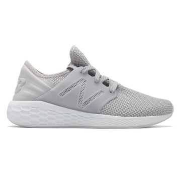New Balance Womens Fresh Foam Cruz v2 Sport, Silver Mink
