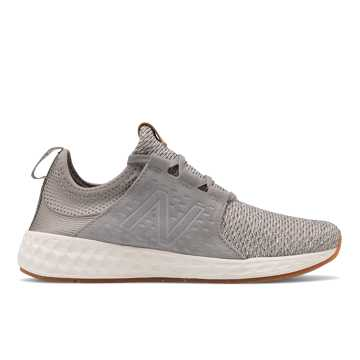 New Balance Fresh Foam Cruzv1 Reissue, Team Away Grey with Angora & Sea Salt