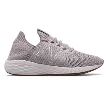 New Balance Fresh Foam Cruz SockFit, Dark Cashmere with Water Vapor