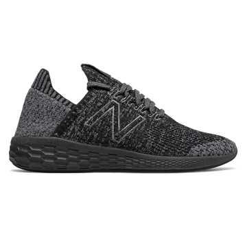 New Balance Fresh Foam系列女款跑步鞋 轻量透气 舒适缓震, 黑色
