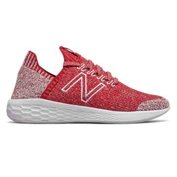 New Balance Fresh Foam Cruz SockFit, Team Red with Arctic Fox