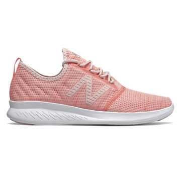 New Balance FuelCore Coast v4, Pink Mist with White Peach & Champagne Metallic