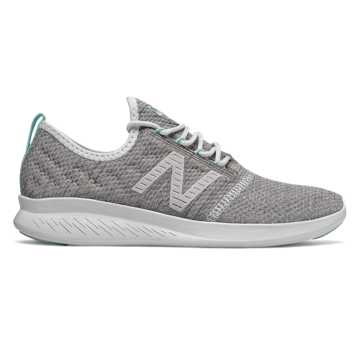 New Balance FuelCore Coast v4, Munsell White with Rain Cloud & Light Reef
