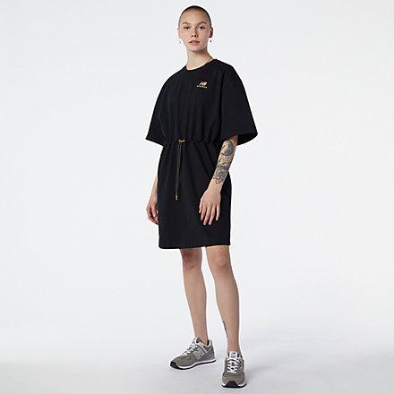 NB NB Athletics Tee Dress, WD11501BK image number null