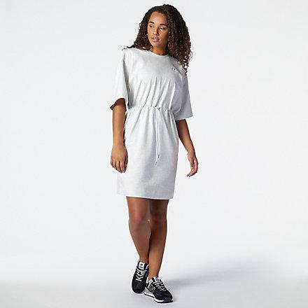 NB NB Athletics Tee Dress, WD11501SAH image number null