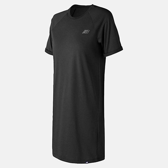 New Balance Essentials T-Shirt Dress, WD81536BK
