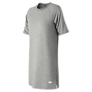New Balance Robe t-shirt NB Athletics, Gris athlétique