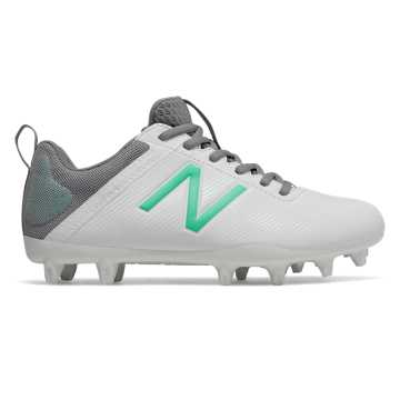 New Balance NB Draw, White with Emerald