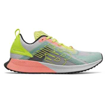 New Balance FuelCell Echolucent, White with Lemon Drop