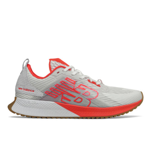 New Balance FuelCell Echolucent - Mujeres EU 40, White/Red