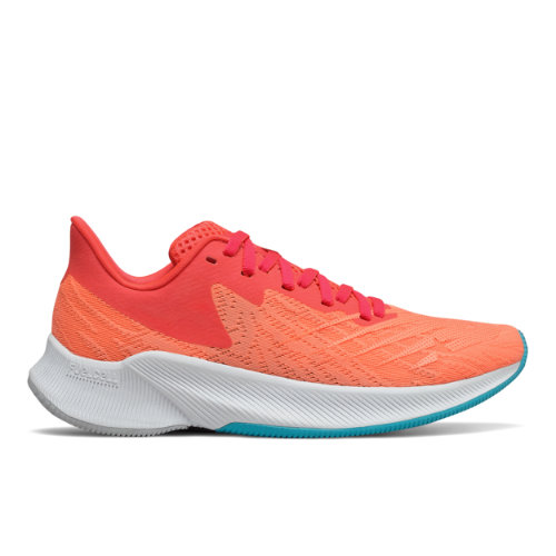 New Balance FuelCell Prism - Mujeres EU 40.5, Red/Orange