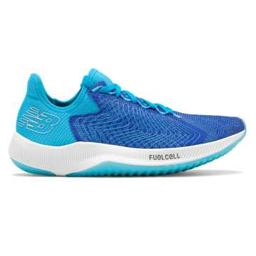 New Balance Women's FuelCell Rebel, UV Blue with Bayside