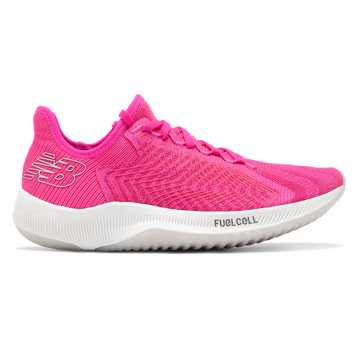 New Balance Women's FuelCell Rebel, Peony with Coral Glow