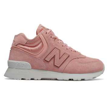 New Balance 574系列女款復古休閑鞋, 喜馬拉雅粉