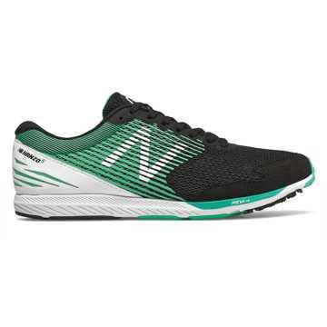 New Balance Hanzo S Mimura联名款女款长跑运动鞋 轻量缓震 快速反馈, 黑色/白色