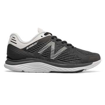 New Balance Hanzo U女款跑步鞋 透气舒适 轻量缓震, 黑色