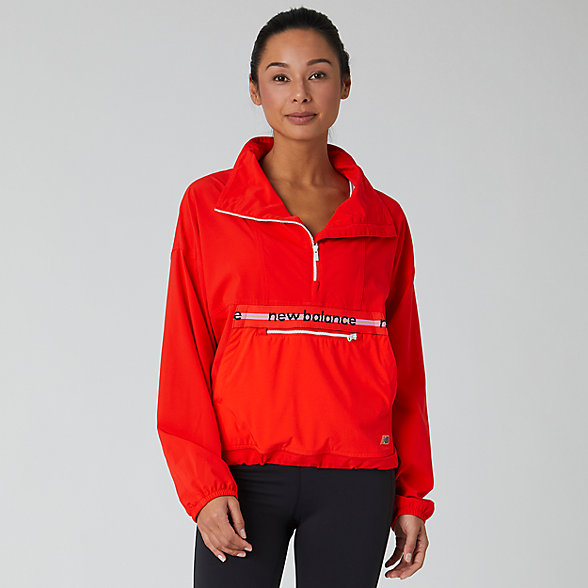 New Balance Determination Windbreaker, WJ01119NEF