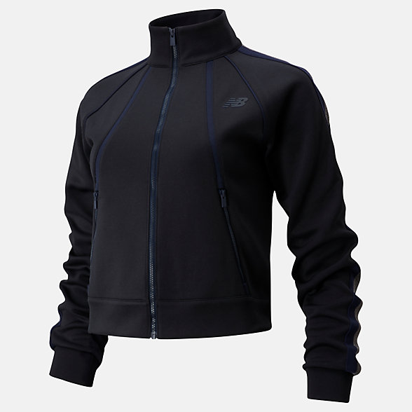 New Balance Popular Brooklyn Half Transform Jacket, WJ01136FBK