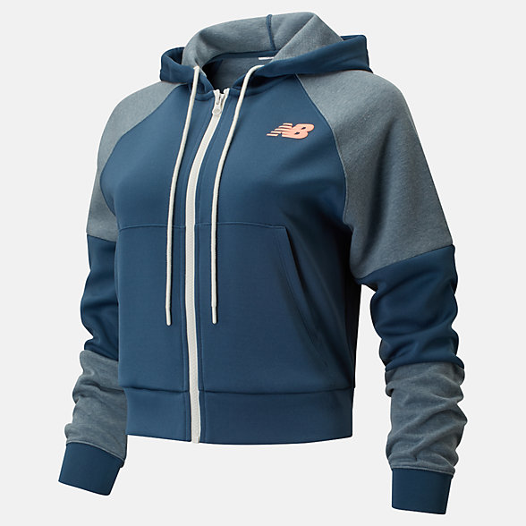 New Balance Achiever Full Zip, WJ01150SNB