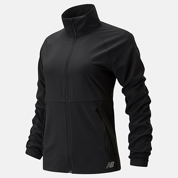 New Balance Impact Run Jacket, WJ01236BK