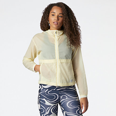 New Balance Impact Run Light Pack Jacket, WJ01237CYW image number null