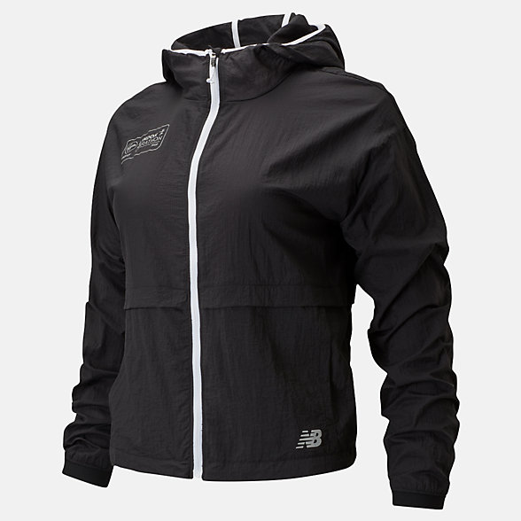 NB London Edition Impact Run Light Pack Jacket , WJ01237DBK