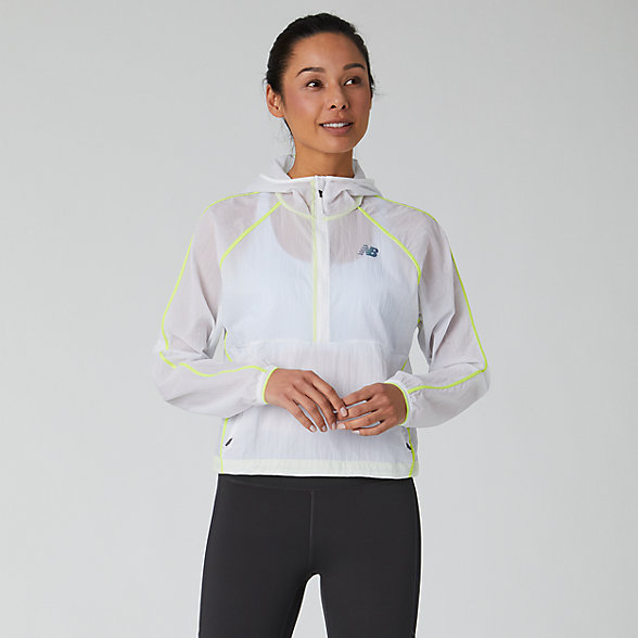 New Balance Q Speed Breathe Anorak, WJ01268WT