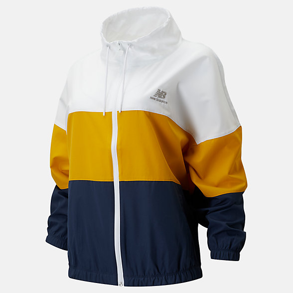 New Balance NB Athletics Windbreaker, WJ01501NGO