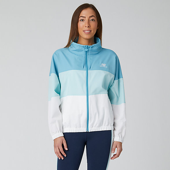 New Balance NB Athletics Windbreaker, WJ01501WAX