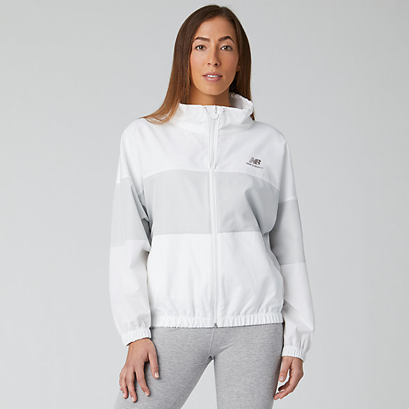New Balance NB Athletics Windbreaker, WJ01501WT