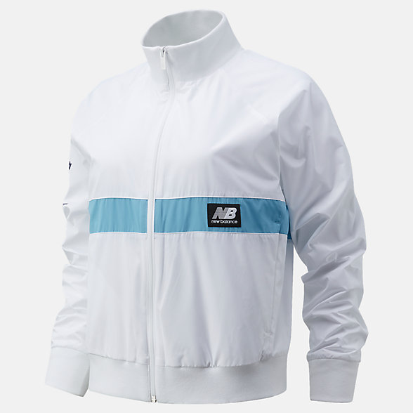 New Balance 2020 United Airlines Half NB Athletics Archive Run Wind Jacket, WJ01504CWT