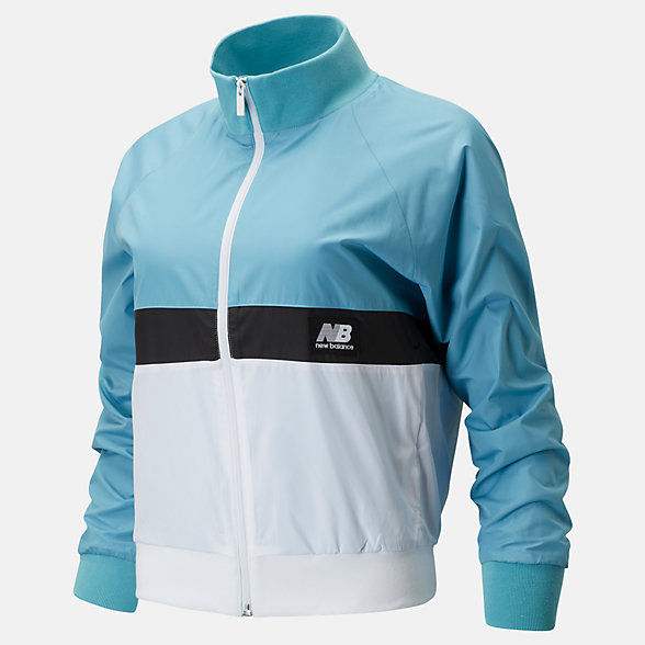 NB NB Athletics Archive Run Wind Jacket, WJ01504WAX