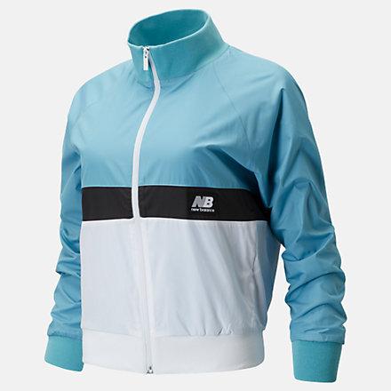 New Balance NB Athletics Archive Run Wind Jacket, WJ01504WAX image number null