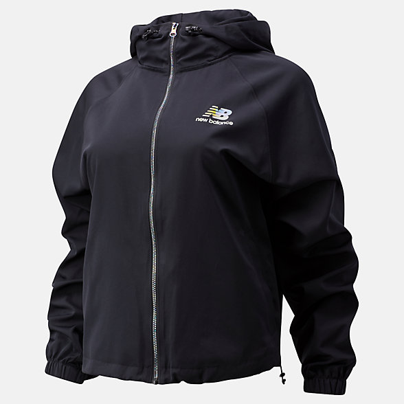 New Balance Essentials Soft Spectrum Jacket, WJ01519BK