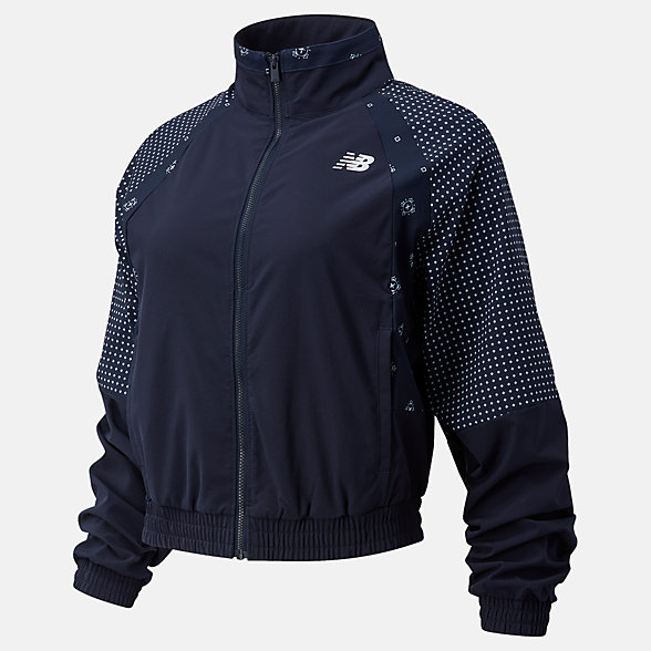NB Achiever Bandana Print Jacket, WJ03130ECL