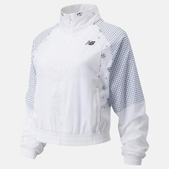 NB Achiever Bandana Print Jacket, WJ03130WT