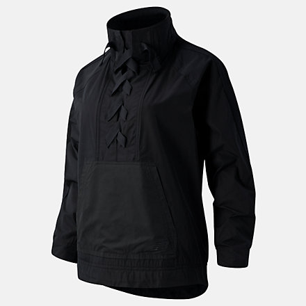 New Balance Determination Academy Anorak, WJ03159BK image number null