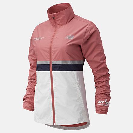 New Balance NYC Marathon Jacket, WJ03200MOFF image number null