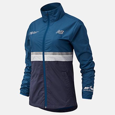 New Balance NYC Marathon Jacket, WJ03200MRGV image number null