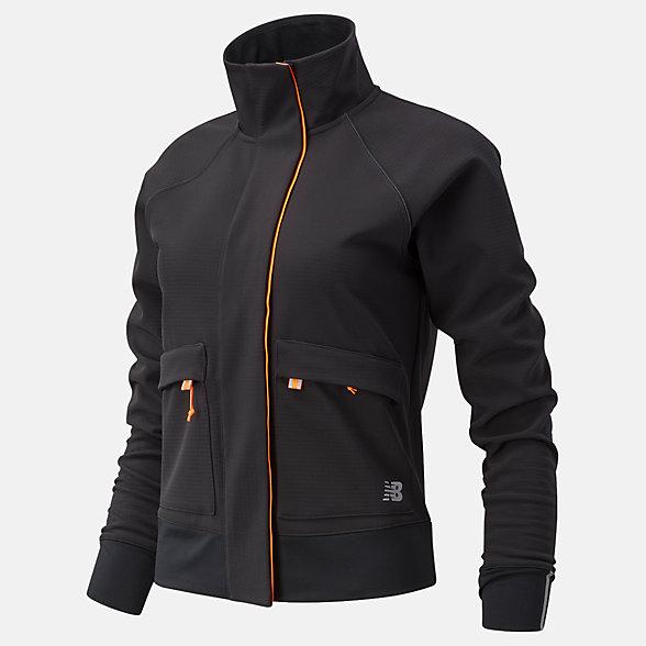 New Balance Impact Run Winter Jacket, WJ03252BK