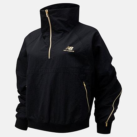 New Balance NB Athletics Select Track Jacket, WJ03501BK image number null