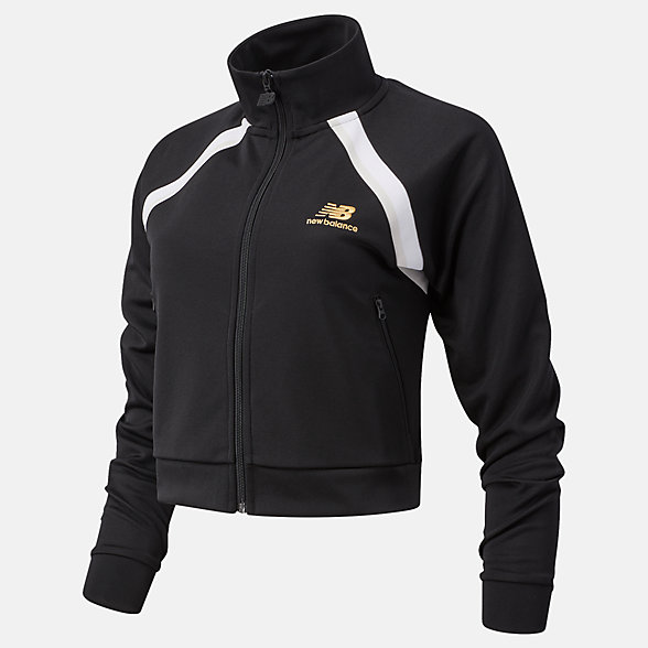 NB NB Athletics Podium Track Jacket, WJ03503BK