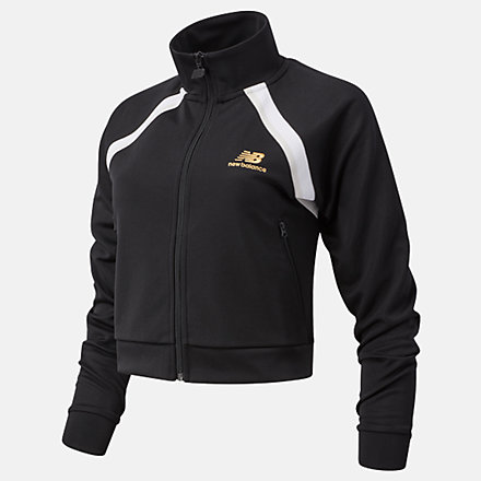 NB NB Athletics Podium Track Jacket, WJ03503BK image number null