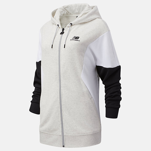NB NB Athletics Village FZ Kapuzenpullover, WJ03504SAH