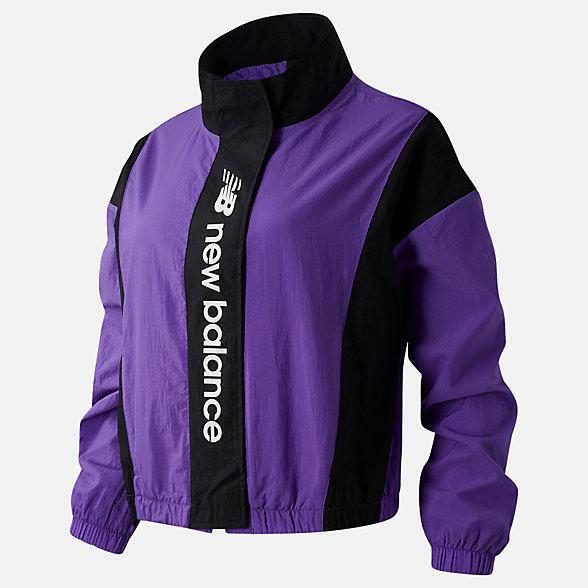 New Balance Sport Style Optiks Jacket, WJ03511MVT