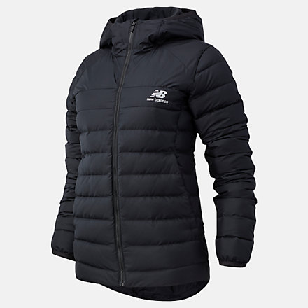 NB NB Athletics Terrain Down Jacket, WJ03515BK image number null
