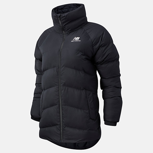 NB NB Athletics Terrain Mid Synthetic Fill Jacket, WJ03521BK