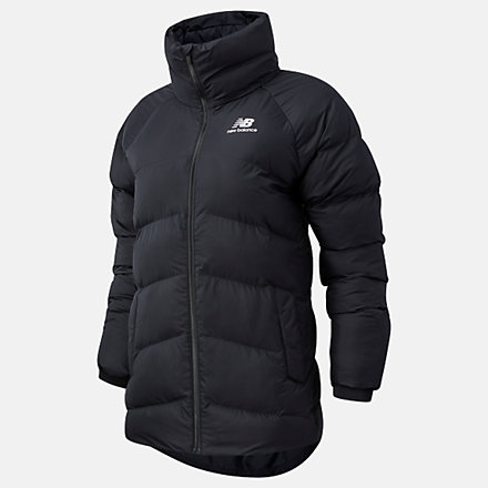 NB NB Athletics Terrain Mid Synthetic Fill Jacket, WJ03521BK image number null