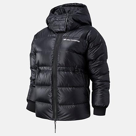 NB Sport Style Optiks Down Jacket, WJ03522BK image number null
