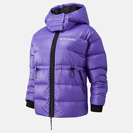 NB Sport Style Optiks Down Jacket, WJ03522MVT image number null